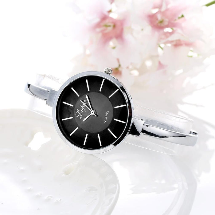 Luxury Women's Girl's Stainless Steel Quartz Analog Wrist Watch