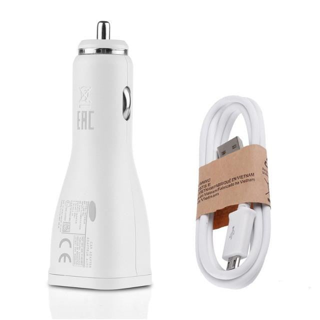 QC2.0 USB Car Charger Adaptive Fast Charge Car Adapter Charging for Samsung Galaxy Note 8 S7 S6 Edge Note 4 Note5