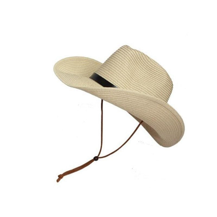 Boughtit.ca buy Men Wide Brim Hat Summer Beach Straw Cap Sun Floppy Foldable Hats for Adults online