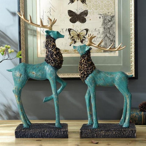 2PCS Creative Retro Deers Boughtit.ca Home & Décor - Boughtit.ca