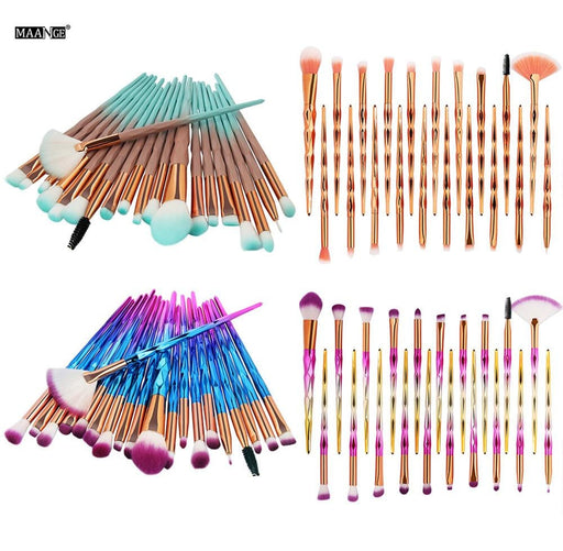 20PCS Make-up Brushes Boughtit.ca  - Boughtit.ca