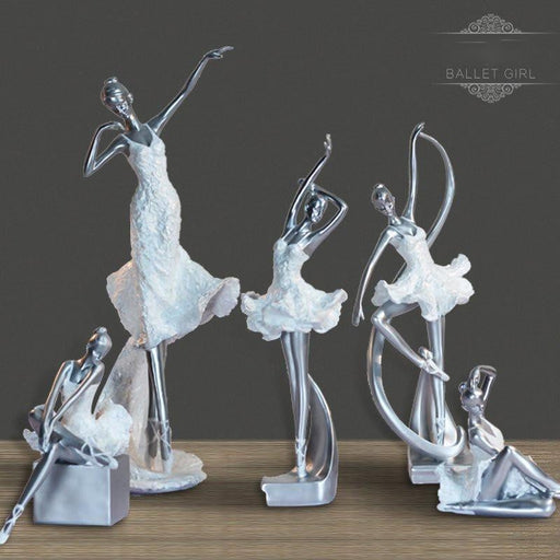European Ballet Beauty Resin Figurines Statue Boughtit.ca Home & Décor - Boughtit.ca