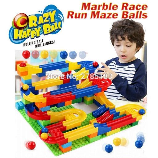Innovative Marble Maze Track Building Blocks