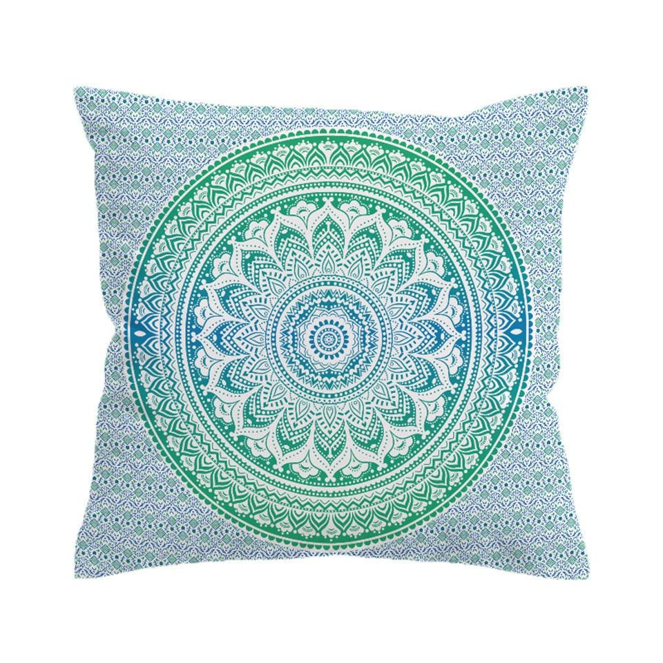 BeddingOutlet Mandala Flower Cushion Cover Pillow Case Bohemia Throw Cover Boho Printed Decorative Pillow Covers Boughtit.ca Home & Décor - Boughtit.ca