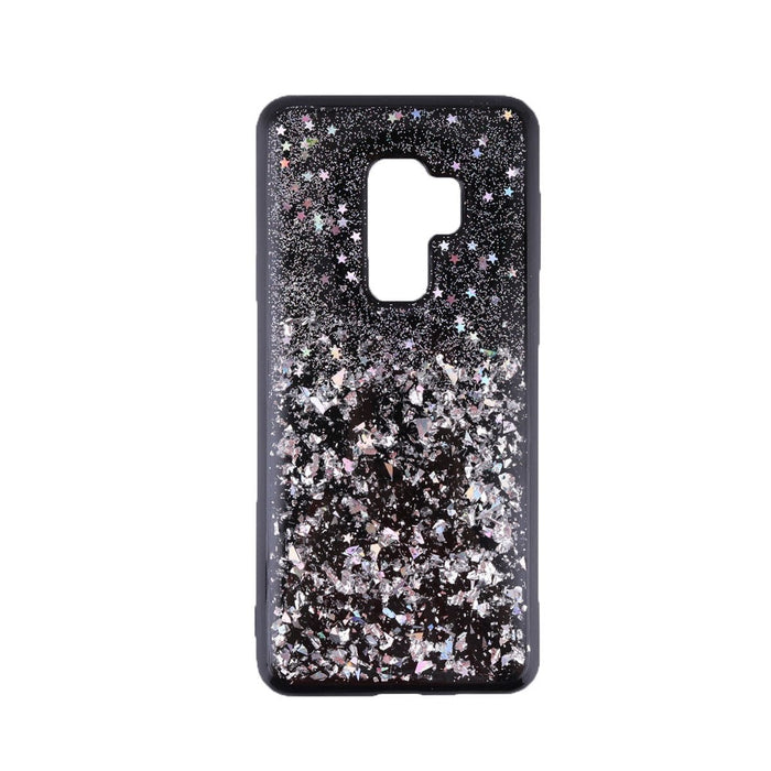 Universal Phone Case Sparkling Silver Shock Absorption Scratch Proof Soft Flexible TPU Phone Cover for Samsung
