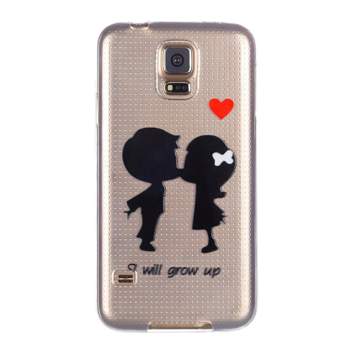 Cute Cartoon Design Phone Cover Transparent Silm Fit Soft Anti-scratch Protector Shell for Samsung Boughtit.ca Phone & Accessories - Boughtit.ca