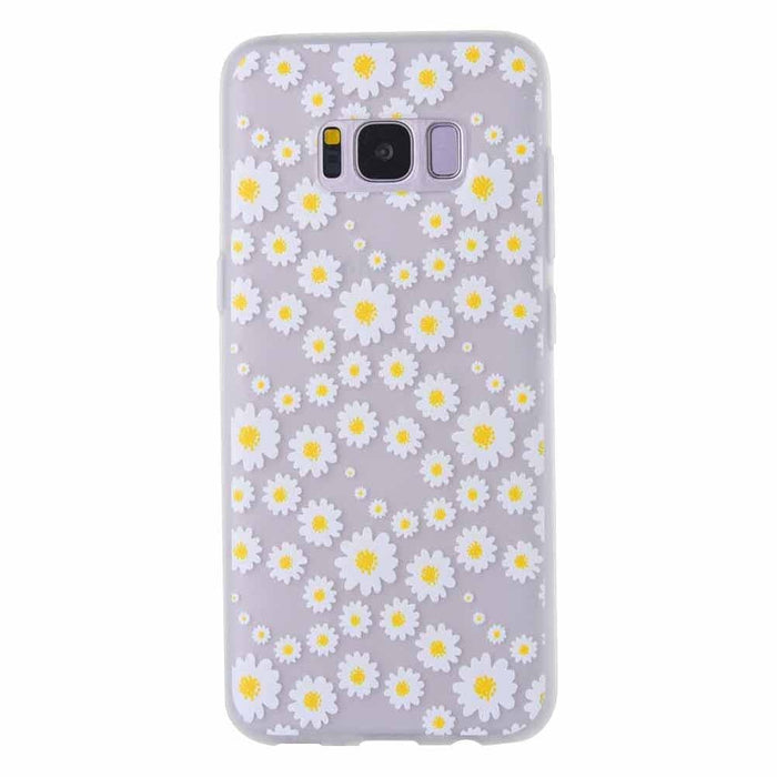 Fashion Daisy Flower Matte Soft Ultrathin TPU Case Phone Case Shell for Samsung Boughtit.ca Phone & Accessories - Boughtit.ca