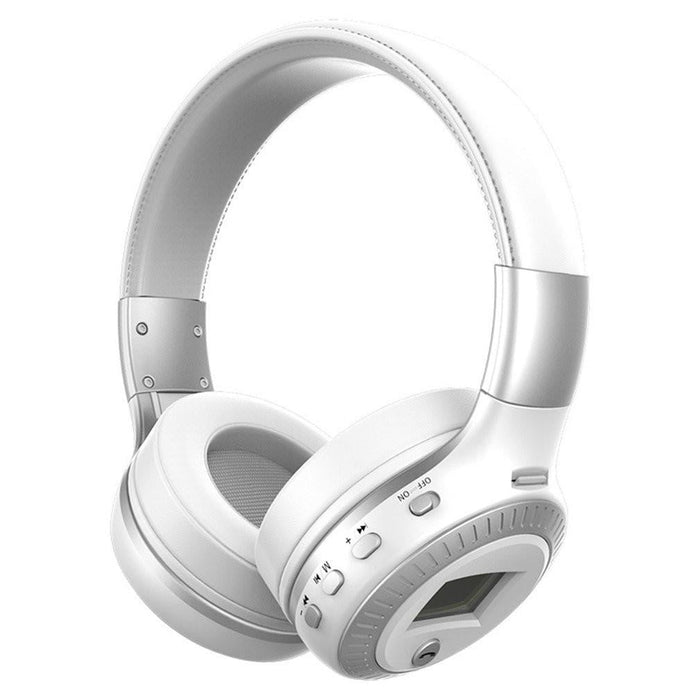 B19 Wireless Stereo Bluetooth Headsets Headphone LCD Display With Mic FM Radio Boughtit.ca Electronics - Boughtit.ca