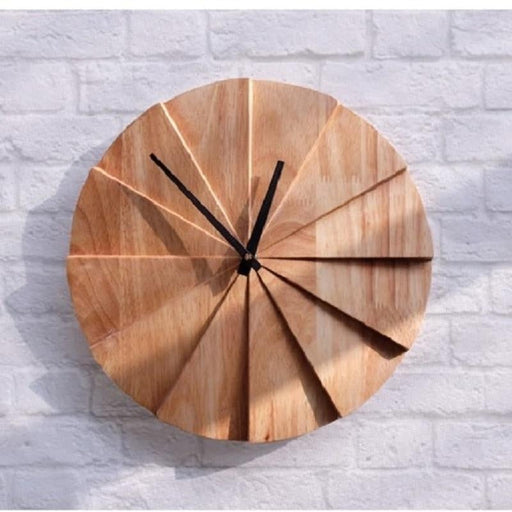 Decorative Handmade Modern Solid Wood Wall Clock Boughtit.ca Home & Décor - Boughtit.ca