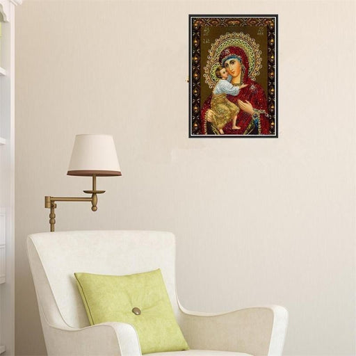 5D Handmade Diamond Religious Wall Painting Home Decor Boughtit.ca  - Boughtit.ca