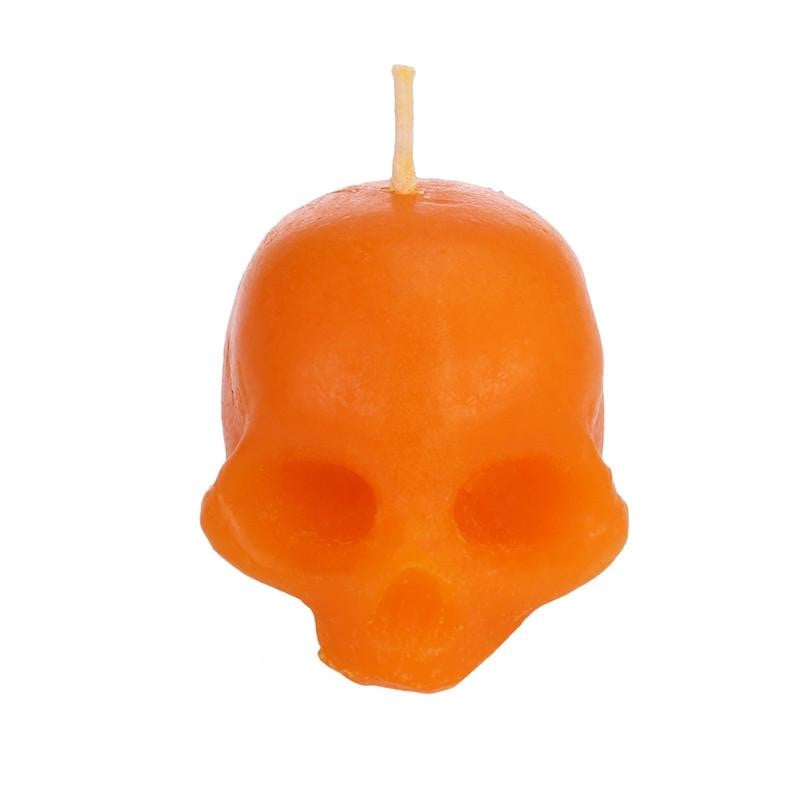 Handmade Skull Candle Black Novelty Candle for Home Decor and Halloween Decoration (random color) Boughtit.ca  - Boughtit.ca