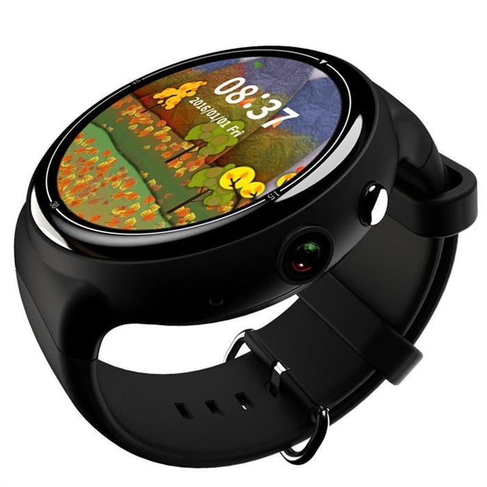 I4 AIR 3G Smart Watch Phone MTK6580 Android 5.1 Quad Core 2G RAM 16G ROM 2.0MP Camera Heart Rate Monitor Pedometer WIFI GPS SIM Bluetooth Smartwatch for Android IOS