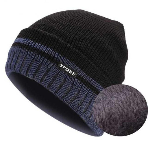 a1bf6cdff28 Boughtit.ca buy 2018 Winter Knitted Beanie For Men Fleece Hat Women Warm Caps  Casual