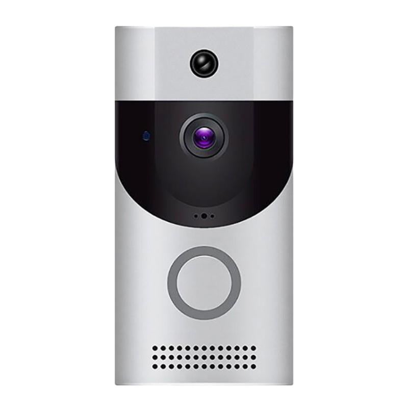 B30 Wireless WiFi Intercom Video Doorbell Receiver Set Doorbells Camera Wifi Video Night Vision Hardware without Batteries Boughtit.ca  - Boughtit.ca