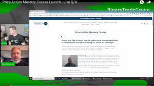 Informational Webinar Recording - Price Action Mastery Certification Course