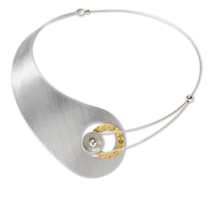 Sculptural - Necklace - Moon