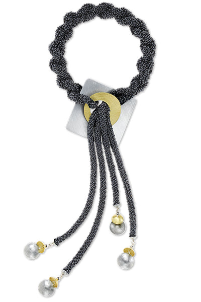 Beaded - Necklace - Mist
