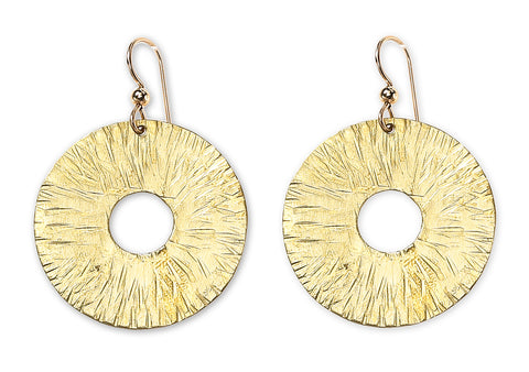 """Burst"" Sculptural Earring"