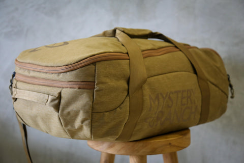 Mystery Ranch Mission Duffel 90 in Coyote