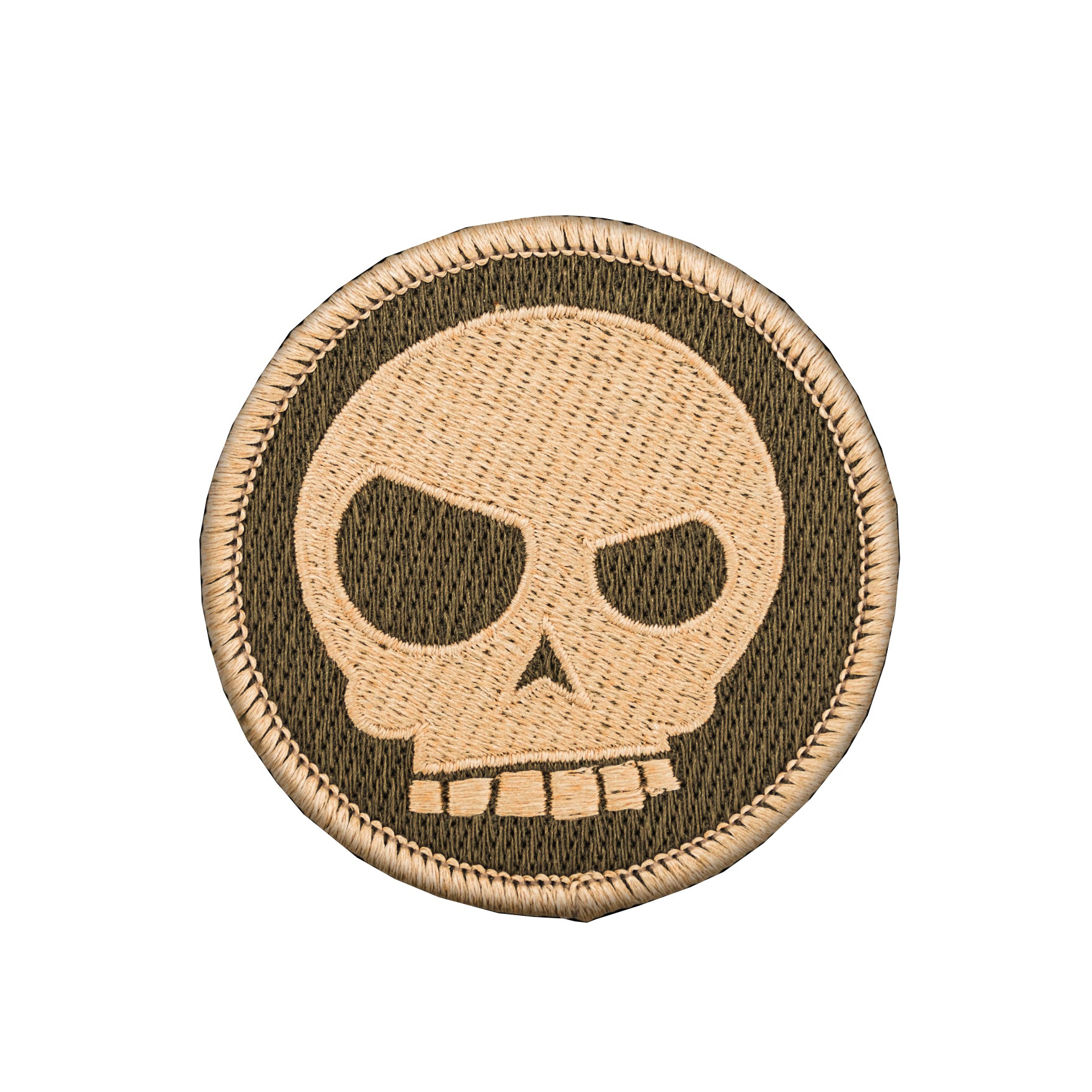 Mean T-Skull Patch