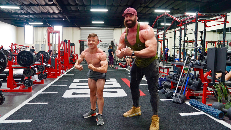 THE MOST SHREDDED 15 YEAR OLD IN THE WORLD!