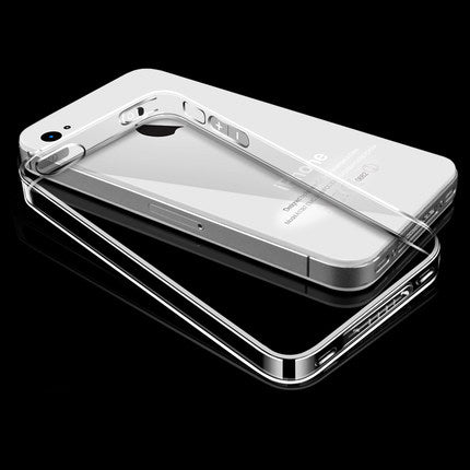 Esamday For i4/4s Ultra Thin Soft TPU Gel Original Transparent Case For iPhone 4 4S Crystal Clear Silicon Back Cover Phone Bags