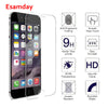 Esamday HD 0.3mm Explosion-proof Tempered Glass For iPhone X 6 6S 6Plus 6SPlus Screen Protector Film Case For 7 8 Plus 5 SE 5S