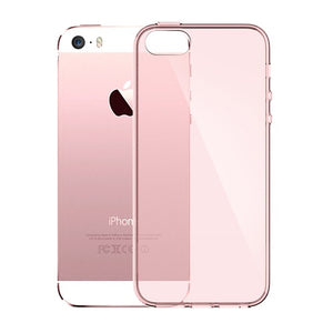 Esamday Ultra Thin Soft TPU Original Transparent Case For Apple iPhone SE 5S 5 Crystal Clear Silicon Back Cover Phone Bag