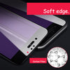 Esamday 3D Soft edge Full Tempered Glass For iPhone X 6 6s Plus 7 8 Plus 3D Curved cover carbon fiber Screen Protector Glass