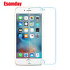 Esamday 2.5D 9H Premium Tempered Glass for iphone X 8 7 Plus Screen Protector for iphone 5 5s SE 6 6s Plus Protective Glass