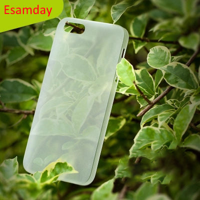 Esamday 0.3mm Ultra Thin Slim Matte frost Translucent Case For iPhone 5 5S SE 4 inch Moblie Phone Protector Cover Skin Shell