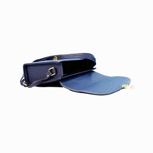 Imperial Blue Satchel Bag