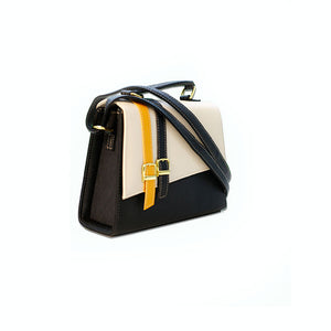 Monochrome Satchel Bag