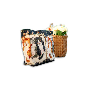 Quirky Printed Carry All Bag