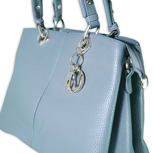 Light Blue Baguette Bag