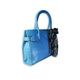 Florescent blue bag