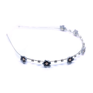 Floral Crystal Hair Band