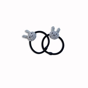 Bunny Rabbit Ponytail Bands