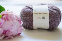-50% Hemp Tweed Chunky 5x100g