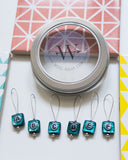 "Stitch Markers Set ""Frozen Treasure"" 