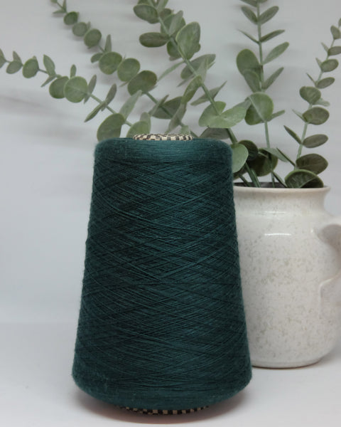 Cariaggi art. Antilope 2/60 (100% merino wool) | emerald green