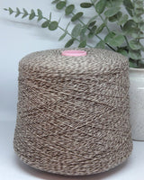 Olimpia art. Minerva 80% Shetland wool | brown mouline