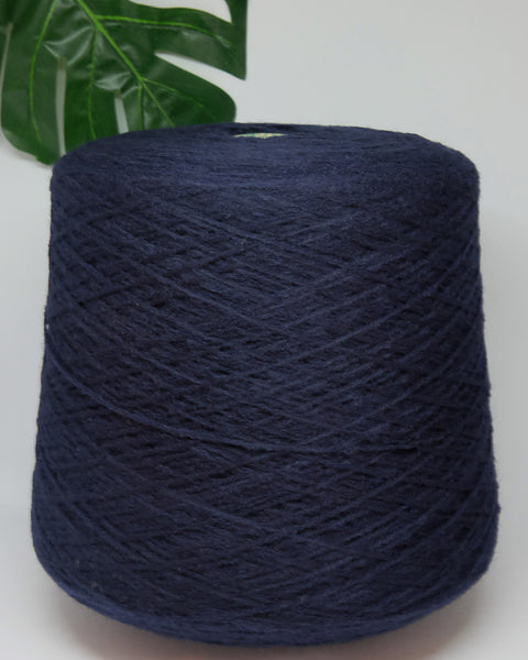 E. Miroglio Hunor 50% wool 50% acrylic | dark blue