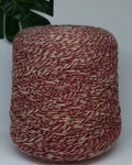 Flag 50% wool 50% acrylic | berry-beige mouline