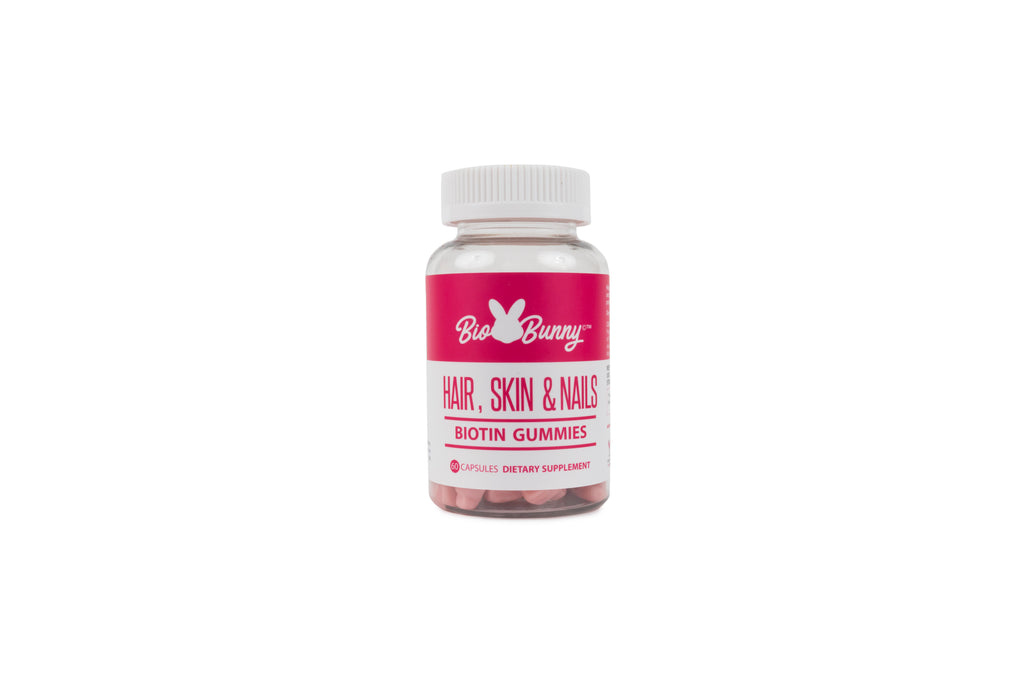 Biobunny hair loss gummy vitamin supplement