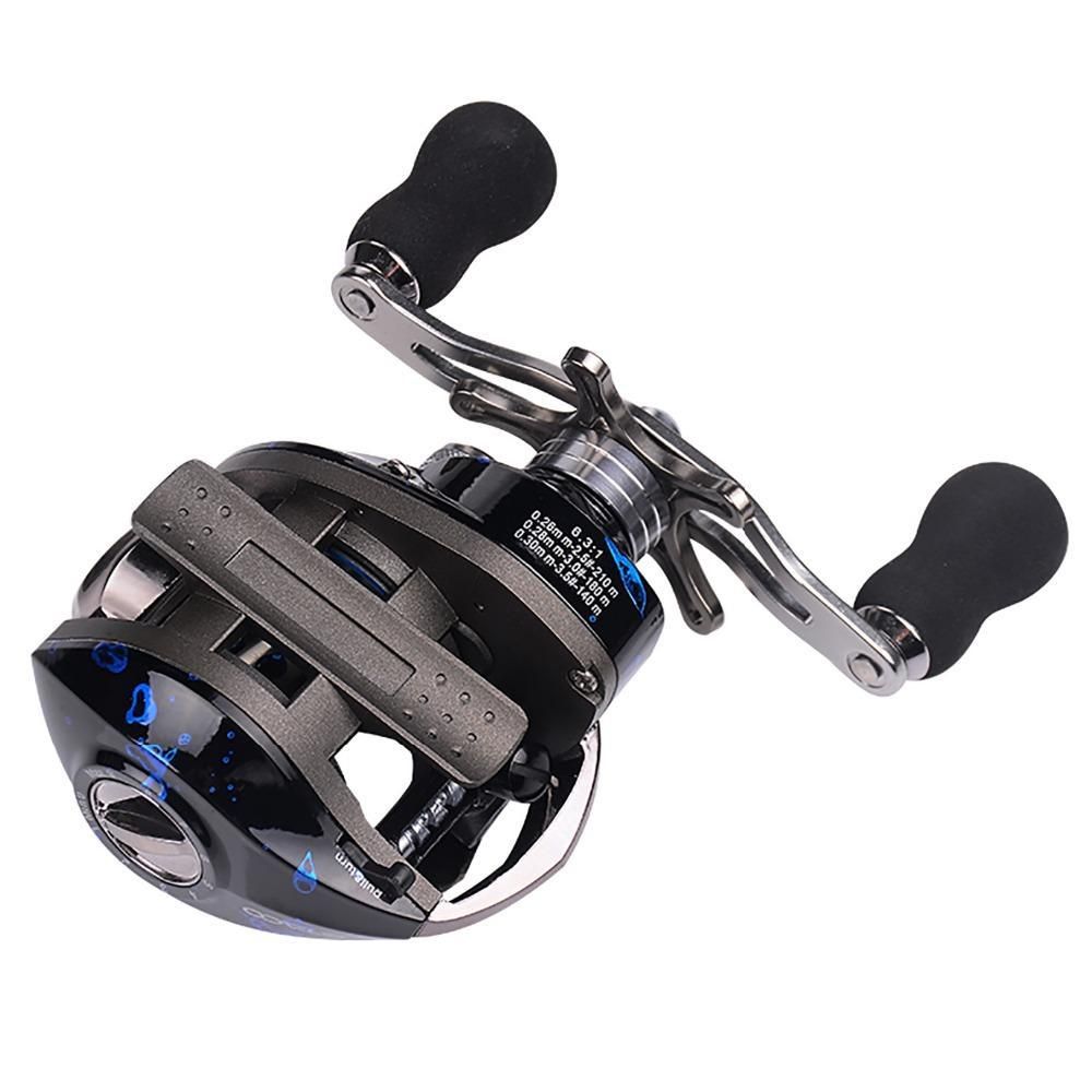 14 Ball Bearings STACO Baitcaster Reel
