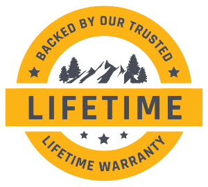 Backed By Our Lifetime Warranty!