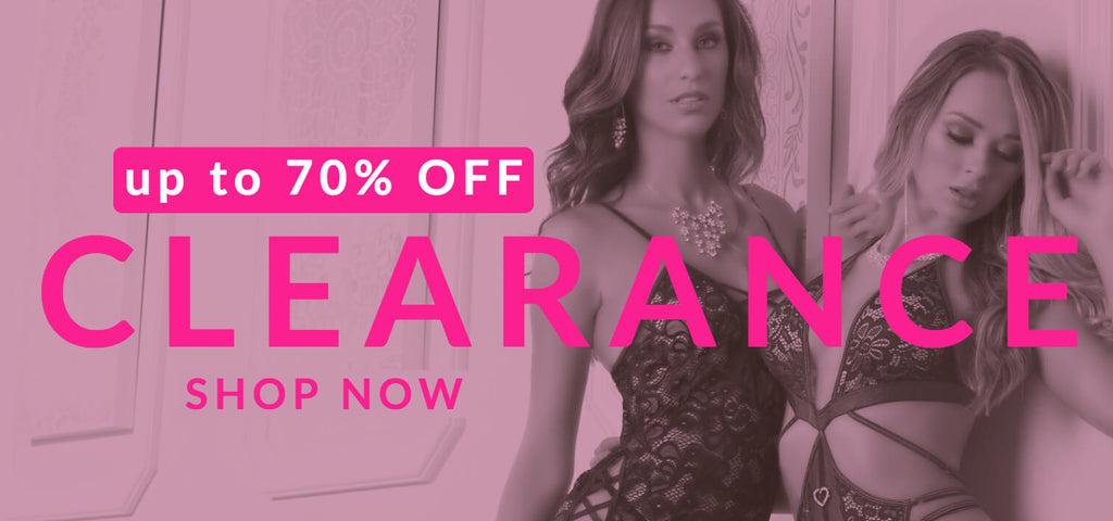up to 70% off sexy lingerie - clearance
