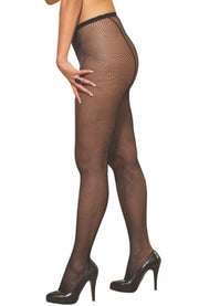 Plus Size Fishnet Tights by Dreamgirl