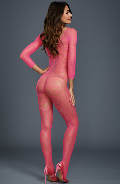 Fishnet Crotchless Bodystocking by Dreamgirl